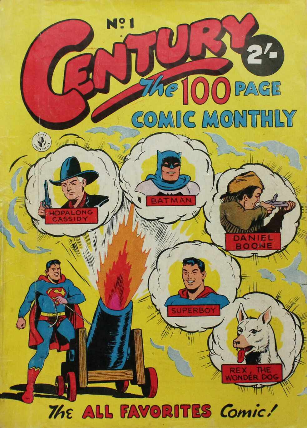 Century The 100 Page Comic Monthly 1, 1956