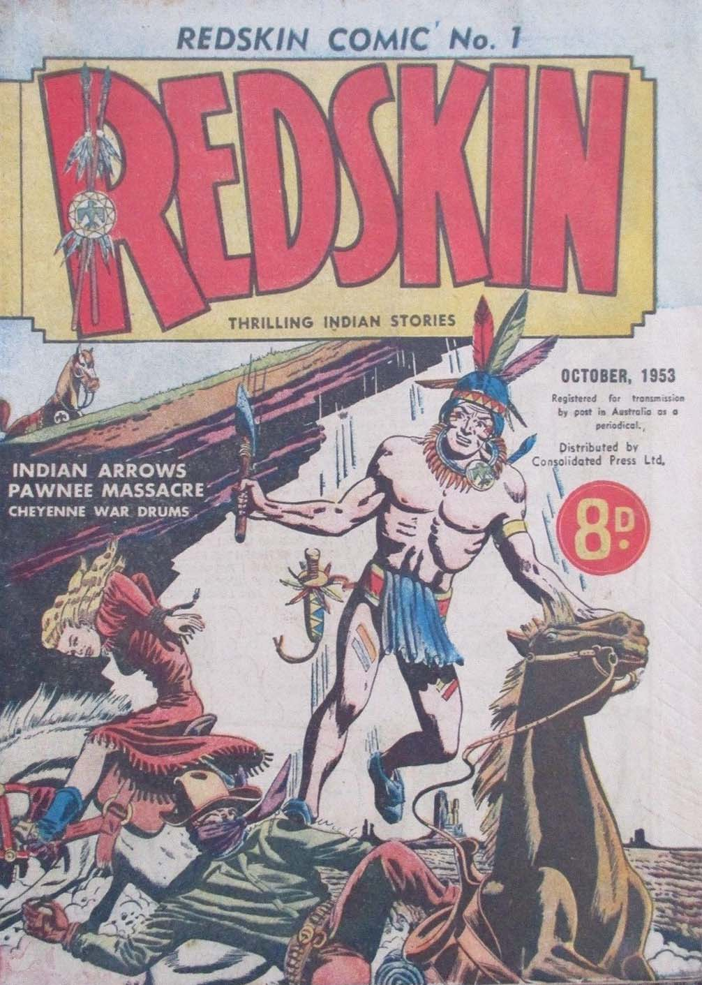 Redskin Comic