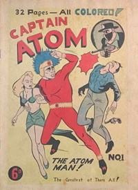 Captain Atom (Atlas Publications Pty. Ltd., 1948 series) #1  ([January 1948?])