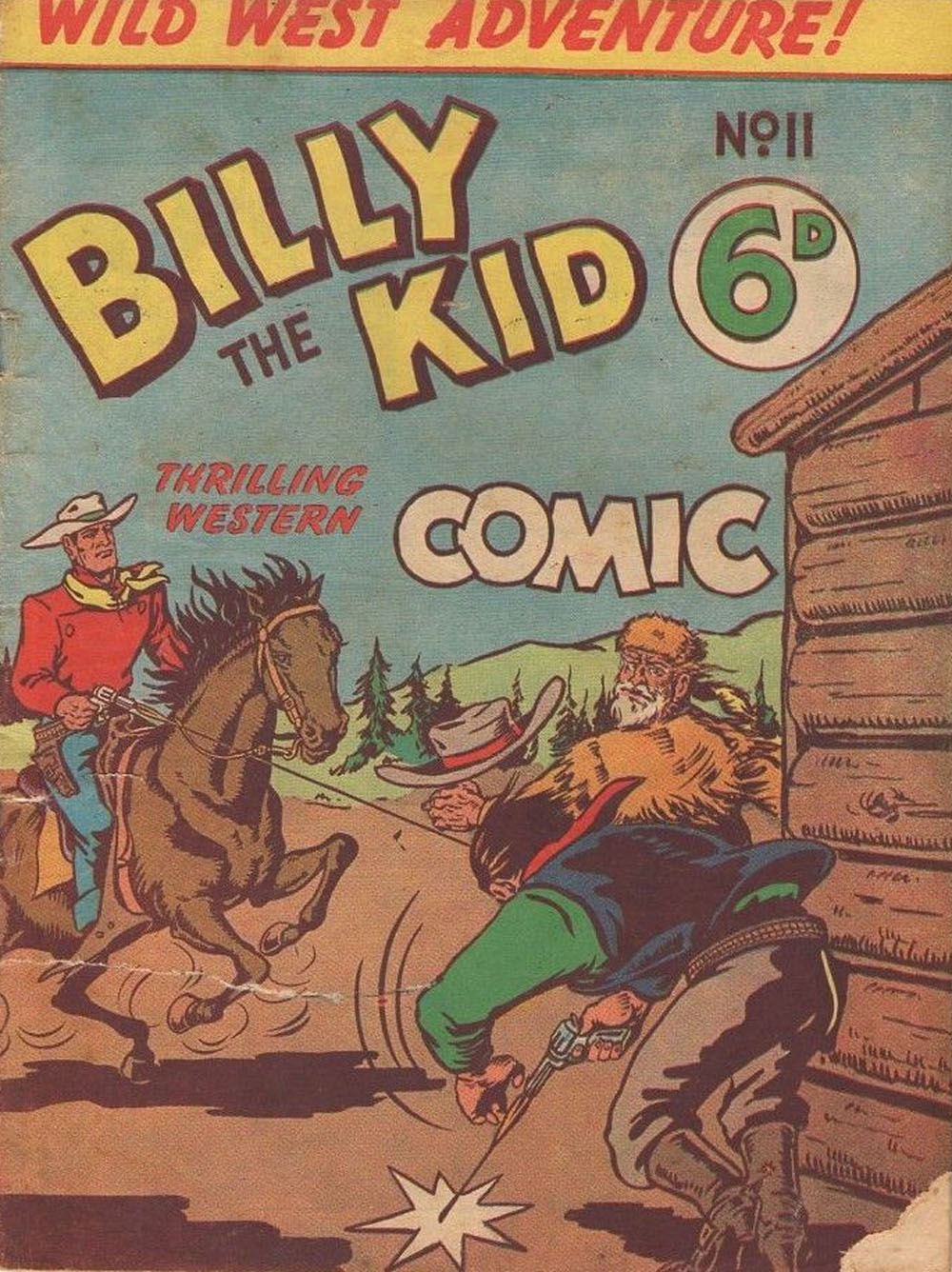 Billy the Kid Western Comic