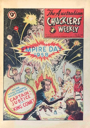 The Australian Chucklers' Weekly (ACP, 1958 series) v.5 #4  (23 May 1958)