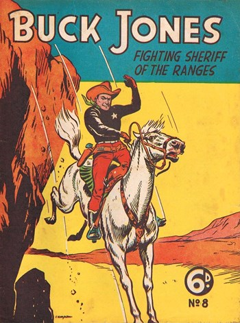 Buck Jones Cowboy Comics (AP, 1949 series) #8  (June 1950)