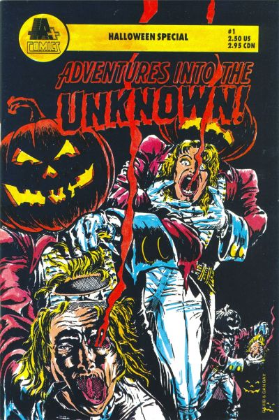 Adventures Into The Unknown Halloween Special