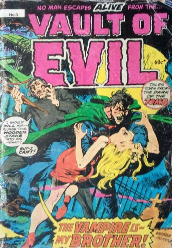 Vault of Evil (Yaffa, 1978? series) #3  (1980)