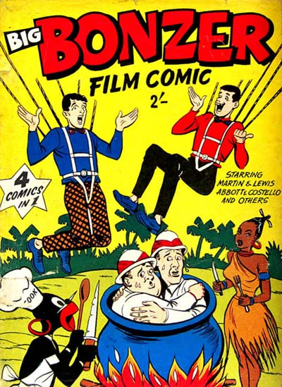 Big Bonzer Film Comic