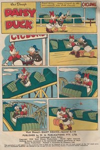 Walt Disney's Giant Comics [G Series] (WG Publications, 1951 series) #G110 — Untitled (page 1)
