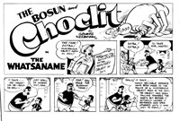 The Bosun and Choclit Funnies (Elmsdale Publications, 1946 series) #56 — The Watsaname (page 1)