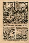Dan'l Boone Greatest Frontiersman of All (Cleland, 1956? series) #3 — Peril Shadows the Forest Trail (page 1)