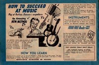Saltbush Bill Cartoon Fun on the Farm (Sungravure, 1947 series) #10 — How to Succeed at Music (page 1)