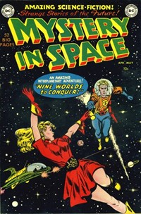 Mystery in Space (DC, 1951 series) #1 (April-May 1951)