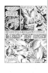 "Superman Presents Tip Top Comic Monthly (Colour Comics, 1965 series) #102 — The 2 Brains of ""Beast"" Bracken! (page 1)"
