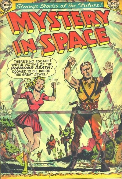Mystery in Space (DC, 1951 series) #9 (August-September 1952)