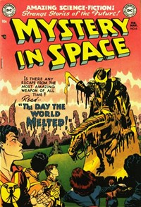 Mystery in Space (DC, 1951 series) #6 (February-March 1952)