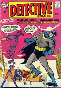 Detective Comics (DC, 1937 series) #331 — Museum of Mixed-Up Men!