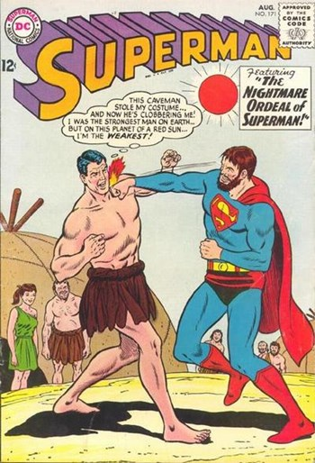 The Nightmare Ordeal of Superman!