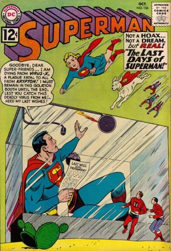 Superman (DC, 1939 series) #156 (October 1962)