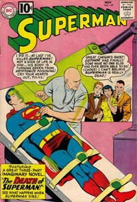 Superman (DC, 1939 series) #149 — The Death of Superman!