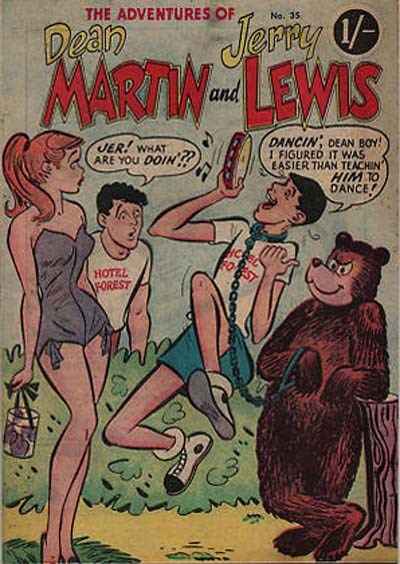 The Adventures of Dean Martin and Jerry Lewis (Frew, 1956 series) #35 ([November 1958?])