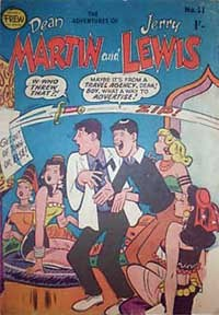The Adventures of Dean Martin and Jerry Lewis (Frew, 1956 series) #31 ([July 1958?])