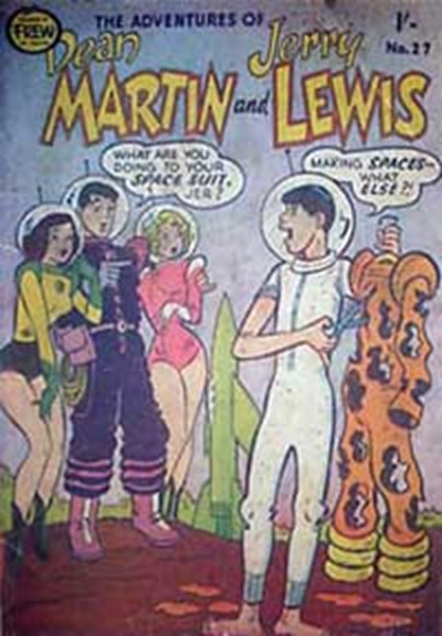 The Adventures of Dean Martin and Jerry Lewis (Frew, 1956 series) #27 ([March 1958?])