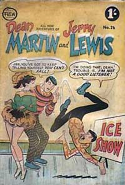 The Adventures of Dean Martin and Jerry Lewis (Frew, 1956 series) #26 ([February 1958?])