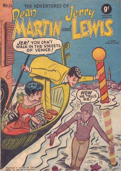The Adventures of Dean Martin and Jerry Lewis (Frew, 1956 series) #16 ([April 1957?])