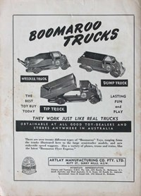 Bluey and Curley Annual (Herald, 1946? series) #1953 — Boomaroo Trucks (page 1)