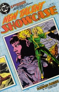 New Talent Showcase (DC, 1984 series) #1 — No title recorded