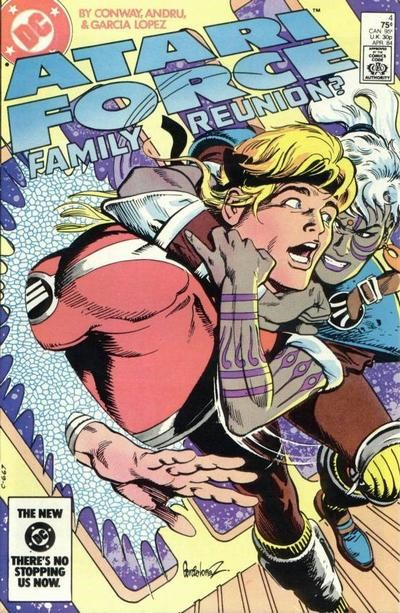 Atari Force (DC, 1984 series) #4 (April 1984)