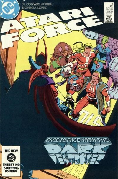 Atari Force (DC, 1984 series) #5 (May 1984)