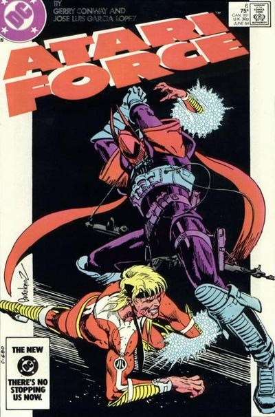 Atari Force (DC, 1984 series) #6 (June 1984)