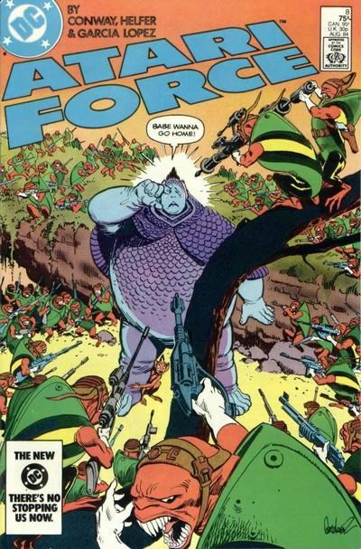 Atari Force (DC, 1984 series) #8 (August 1984)