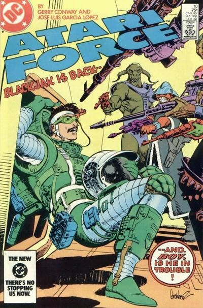 Atari Force (DC, 1984 series) #10 (October 1984)