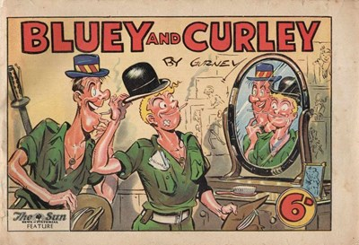 "Bluey and Curley (""Truth"" and ""Sportsman"", 1942? series) #1946 (August 1946)"