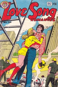 Love Song Romances (Murray, 1977 series) #92 — Untitled (Cover)