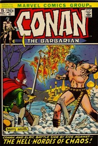 Conan the Barbarian (Marvel, 1970 series) #15 (May 1972)
