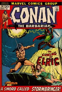 Conan the Barbarian (Marvel, 1970 series) #14 (March 1972)
