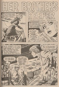 Superman Presents Tip Top Comic Monthly (KG Murray, 1973 series) #121 — Her Brother's Keeper (page 1)