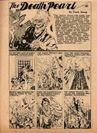 The New Big Hit Comics (Frank Johnson, 1945?)  — The Death Pearl (page 1)