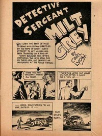 The New Big Hit Comics (Frank Johnson, 1945?)  — Detective Sergeant Milt Grey (page 1)