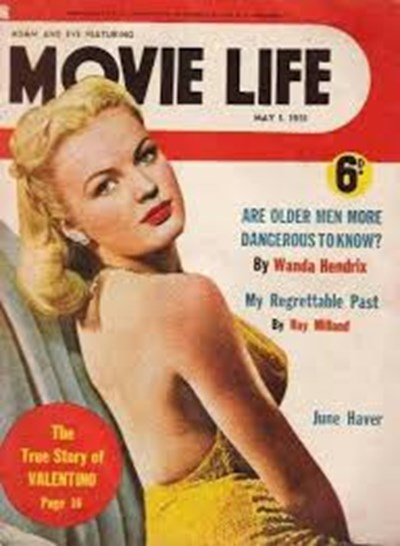 Adam and Eve Featuring Movie Life (Southdown Press, 1945 series) v4#11 ([May 1950?])