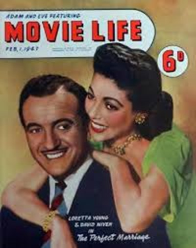Adam and Eve Featuring Movie Life (Southdown Press, 1945 series) v1#8 (1 February 1947)