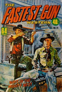 The Fastest Gun Western (KG Murray, 1974 series) #25 — Untitled