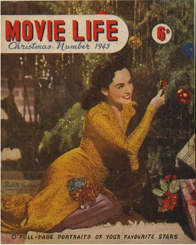 Adam and Eve Featuring Movie Life (Southdown Press, 1945 series) #? (Christmas 1945)
