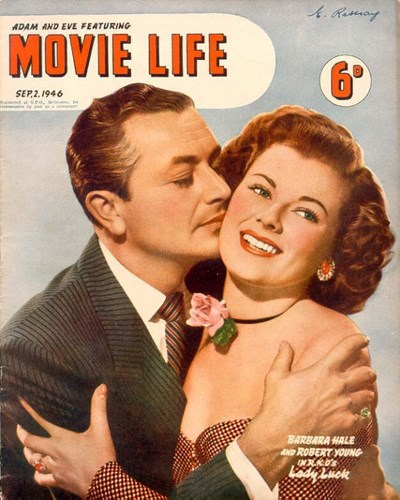 Adam and Eve Featuring Movie Life (Southdown Press, 1945 series) v1#3 (2 September 1946)