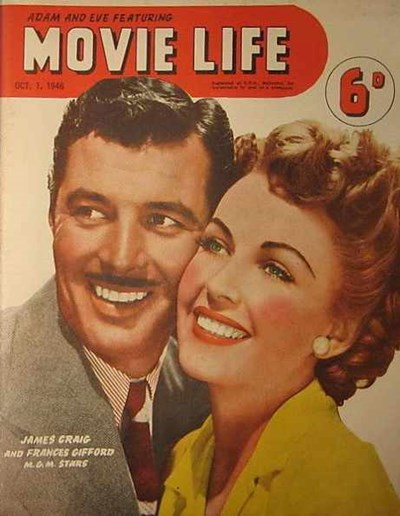 Adam and Eve Featuring Movie Life (Southdown Press, 1945 series) v1#4 (1 October 1946)