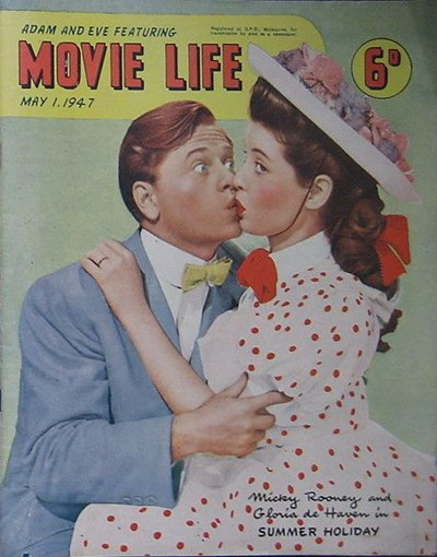 Adam and Eve Featuring Movie Life (Southdown Press, 1945 series) v1#11 (1 May 1947)