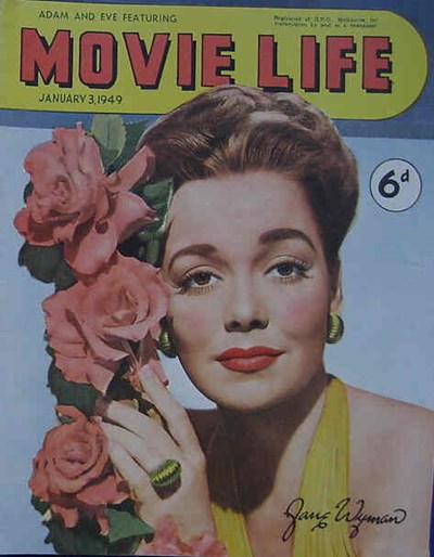 Adam and Eve Featuring Movie Life (Southdown Press, 1945 series) v3#7 (3 January 1949)