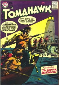 Tomahawk (DC, 1950 series) #51 — The Indian Sea Raiders!