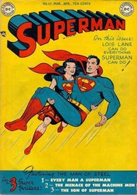 Superman (DC, 1939 series) #57 (March-April 1949)
